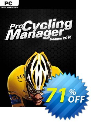 Pro Cycling Manager 2019 PC 優惠券,折扣碼 Pro Cycling Manager 2021 PC Deal,促銷代碼: Pro Cycling Manager 2021 PC Exclusive offer for iVoicesoft