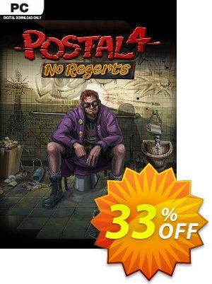 POSTAL 4: No Regerts PC Coupon discount POSTAL 4: No Regerts PC Deal. Promotion: POSTAL 4: No Regerts PC Exclusive offer for iVoicesoft