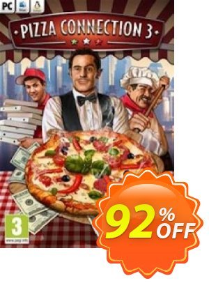 Pizza Connection 3 PC 프로모션 코드 Pizza Connection 3 PC Deal 프로모션: Pizza Connection 3 PC Exclusive offer for iVoicesoft
