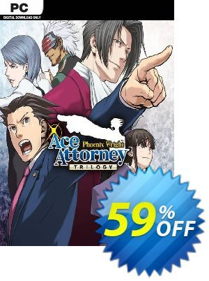 Phoenix Wright: Ace Attorney Trilogy PC Coupon discount Phoenix Wright: Ace Attorney Trilogy PC Deal. Promotion: Phoenix Wright: Ace Attorney Trilogy PC Exclusive offer for iVoicesoft