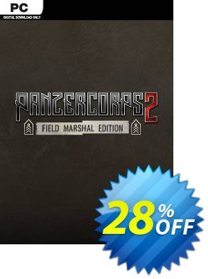 Panzer Corps 2 - Field Marshal Edition PC Coupon discount Panzer Corps 2 - Field Marshal Edition PC Deal. Promotion: Panzer Corps 2 - Field Marshal Edition PC Exclusive offer for iVoicesoft