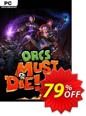 Orcs Must Die! 2 PC discount coupon Orcs Must Die! 2 PC Deal - Orcs Must Die! 2 PC Exclusive offer for iVoicesoft