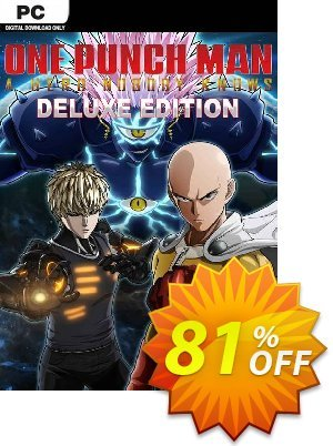 One Punch Man: A Hero Nobody Knows - Deluxe Edition PC 프로모션 코드 One Punch Man: A Hero Nobody Knows - Deluxe Edition PC Deal 프로모션: One Punch Man: A Hero Nobody Knows - Deluxe Edition PC Exclusive offer for iVoicesoft