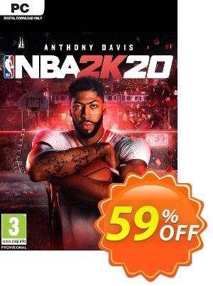 NBA 2K20 PC (EU) 優惠券,折扣碼 NBA 2K20 PC (EU) Deal,促銷代碼: NBA 2K20 PC (EU) Exclusive offer for iVoicesoft