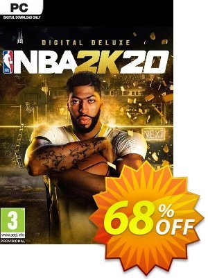 NBA 2K20 Deluxe Edition PC (US) Coupon discount NBA 2K20 Deluxe Edition PC (US) Deal. Promotion: NBA 2K20 Deluxe Edition PC (US) Exclusive offer for iVoicesoft