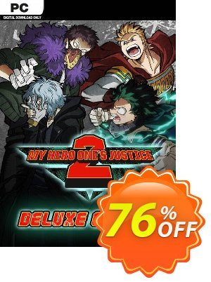 My Hero One's Justice 2 - Deluxe Edition PC + DLC discount coupon My Hero One's Justice 2 - Deluxe Edition PC + DLC Deal - My Hero One's Justice 2 - Deluxe Edition PC + DLC Exclusive offer for iVoicesoft