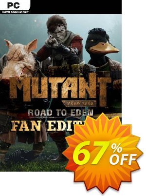 Mutant Year Zero: Road to Eden - Fan Edition PC discount coupon Mutant Year Zero: Road to Eden - Fan Edition PC Deal - Mutant Year Zero: Road to Eden - Fan Edition PC Exclusive offer for iVoicesoft
