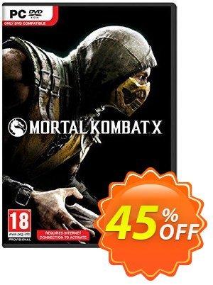 Mortal Kombat X PC discount coupon Mortal Kombat X PC Deal - Mortal Kombat X PC Exclusive offer for iVoicesoft