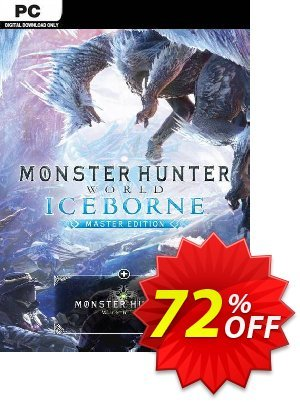 Monster Hunter World: Iceborne Master Edition PC discount coupon Monster Hunter World: Iceborne Master Edition PC Deal - Monster Hunter World: Iceborne Master Edition PC Exclusive offer for iVoicesoft