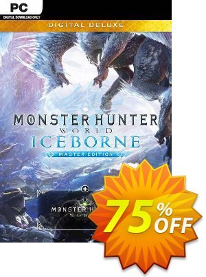 Monster Hunter World: Iceborne Master Edition Deluxe PC discount coupon Monster Hunter World: Iceborne Master Edition Deluxe PC Deal - Monster Hunter World: Iceborne Master Edition Deluxe PC Exclusive offer for iVoicesoft