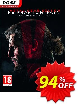 Metal Gear Solid V 5: The Phantom Pain PC discount coupon Metal Gear Solid V 5: The Phantom Pain PC Deal - Metal Gear Solid V 5: The Phantom Pain PC Exclusive offer for iVoicesoft