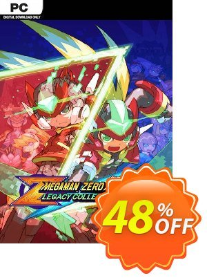 Mega Man Zero/ZX Legacy Collection PC + DLC アドバタイズメント Mega Man Zero/ZX Legacy Collection PC + DLC Deal