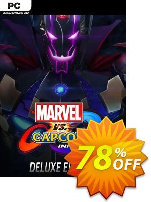 Marvel vs. Capcom Infinite - Deluxe Edition PC Coupon, discount Marvel vs. Capcom Infinite - Deluxe Edition PC Deal. Promotion: Marvel vs. Capcom Infinite - Deluxe Edition PC Exclusive offer for iVoicesoft