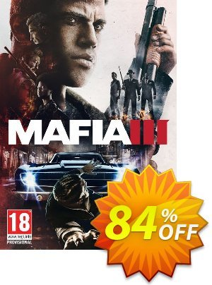 Mafia III 3 PC + DLC (Global) discount coupon Mafia III 3 PC + DLC (Global) Deal - Mafia III 3 PC + DLC (Global) Exclusive offer for iVoicesoft
