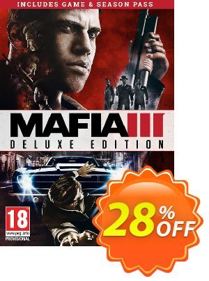 Mafia III 3 Deluxe Edition PC discount coupon Mafia III 3 Deluxe Edition PC Deal - Mafia III 3 Deluxe Edition PC Exclusive offer for iVoicesoft