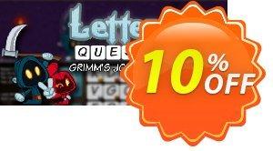 Letter Quest Grimm's Journey PC Coupon discount Letter Quest Grimm's Journey PC Deal. Promotion: Letter Quest Grimm's Journey PC Exclusive offer for iVoicesoft