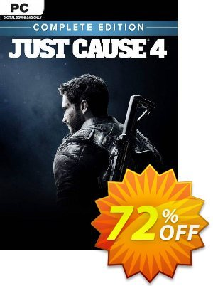 Just Cause 4 - Complete Edition PC 프로모션 코드 Just Cause 4 - Complete Edition PC Deal 프로모션: Just Cause 4 - Complete Edition PC Exclusive offer for iVoicesoft