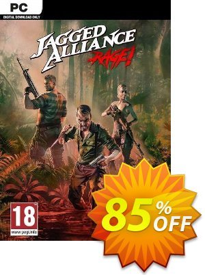 Jagged Alliance : Rage! PC discount coupon Jagged Alliance : Rage! PC Deal - Jagged Alliance : Rage! PC Exclusive offer for iVoicesoft