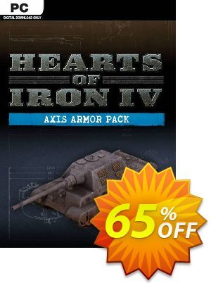 Hearts of Iron IV 4 PC: Axis Armor Pack DLC discount coupon Hearts of Iron IV 4 PC: Axis Armor Pack DLC Deal - Hearts of Iron IV 4 PC: Axis Armor Pack DLC Exclusive offer for iVoicesoft