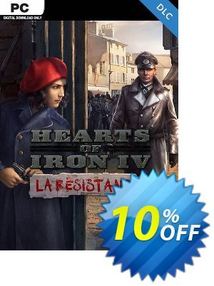 Hearts of Iron IV 4: La Résistance PC Coupon, discount Hearts of Iron IV 4: La Résistance PC Deal. Promotion: Hearts of Iron IV 4: La Résistance PC Exclusive offer for iVoicesoft