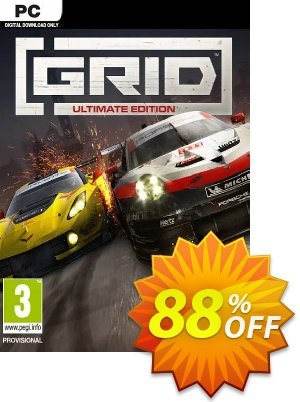GRID: Ultimate Edition PC 프로모션 코드 GRID: Ultimate Edition PC Deal 프로모션: GRID: Ultimate Edition PC Exclusive offer for iVoicesoft