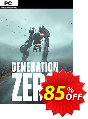Generation Zero PC Coupon discount Generation Zero PC Deal. Promotion: Generation Zero PC Exclusive offer for iVoicesoft