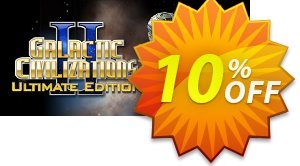 Galactic Civilizations II Ultimate Edition PC discount coupon Galactic Civilizations II Ultimate Edition PC Deal - Galactic Civilizations II Ultimate Edition PC Exclusive offer for iVoicesoft