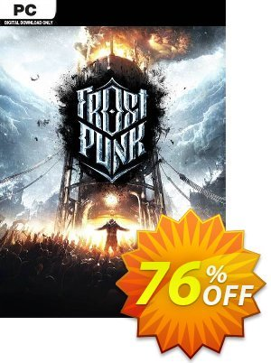 Frostpunk PC (EU) 優惠券,折扣碼 Frostpunk PC (EU) Deal,促銷代碼: Frostpunk PC (EU) Exclusive offer for iVoicesoft