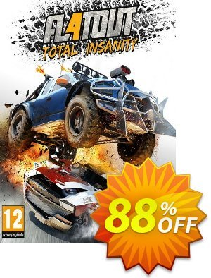FlatOut 4 Total Insanity PC Coupon discount FlatOut 4 Total Insanity PC Deal. Promotion: FlatOut 4 Total Insanity PC Exclusive offer for iVoicesoft