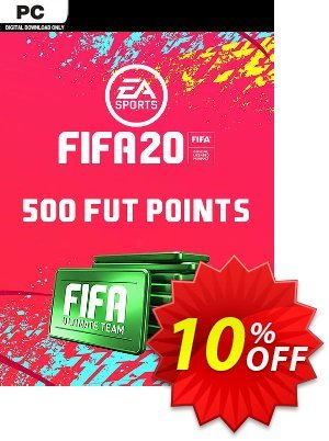 FIFA 20 Ultimate Team - 500 FIFA Points PC discount coupon FIFA 20 Ultimate Team - 500 FIFA Points PC Deal - FIFA 20 Ultimate Team - 500 FIFA Points PC Exclusive offer for iVoicesoft