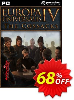 Europa Universalis IV 4 PC Cossacks DLC discount coupon Europa Universalis IV 4 PC Cossacks DLC Deal - Europa Universalis IV 4 PC Cossacks DLC Exclusive offer for iVoicesoft