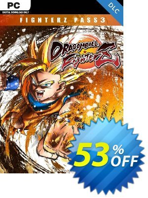 Dragon Ball Fighter Z - FighterZ Pass 3 PC Coupon discount Dragon Ball Fighter Z - FighterZ Pass 3 PC Deal. Promotion: Dragon Ball Fighter Z - FighterZ Pass 3 PC Exclusive offer for iVoicesoft