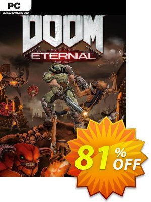 DOOM Eternal PC Coupon, discount DOOM Eternal PC Deal. Promotion: DOOM Eternal PC Exclusive offer for iVoicesoft