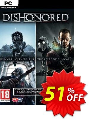 Dishonored PC DLC Double Pack Dunwall City Trials and The Knife of Dunwall discount coupon Dishonored PC DLC Double Pack Dunwall City Trials and The Knife of Dunwall Deal - Dishonored PC DLC Double Pack Dunwall City Trials and The Knife of Dunwall Exclusive offer for iVoicesoft