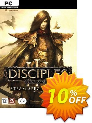 Disciples III Renaissance Steam Special Edition PC Coupon discount Disciples III Renaissance Steam Special Edition PC Deal. Promotion: Disciples III Renaissance Steam Special Edition PC Exclusive offer for iVoicesoft