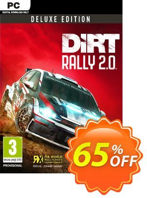DiRT Rally 2.0 Deluxe Edition PC 프로모션 코드 DiRT Rally 2.0 Deluxe Edition PC Deal 프로모션: DiRT Rally 2.0 Deluxe Edition PC Exclusive offer for iVoicesoft