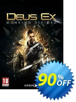 Deus Ex: Mankind Divided PC discount coupon Deus Ex: Mankind Divided PC Deal - Deus Ex: Mankind Divided PC Exclusive offer for iVoicesoft