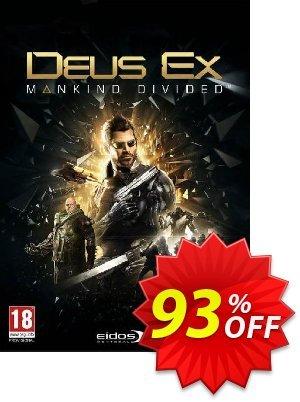 Deus Ex: Mankind Divided PC 프로모션 코드 Deus Ex: Mankind Divided PC Deal 프로모션: Deus Ex: Mankind Divided PC Exclusive offer for iVoicesoft