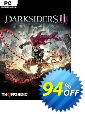 Darksiders III 3 PC discount coupon Darksiders III 3 PC Deal - Darksiders III 3 PC Exclusive offer for iVoicesoft