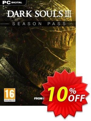 Dark Souls III 3 Season Pass PC Coupon discount Dark Souls III 3 Season Pass PC Deal. Promotion: Dark Souls III 3 Season Pass PC Exclusive offer for iVoicesoft
