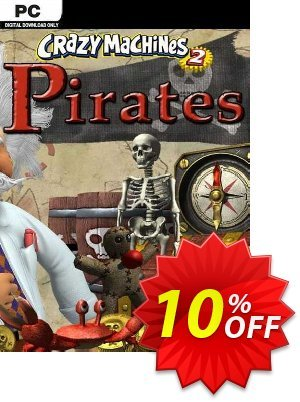 Crazy Machines 2 Pirates PC discount coupon Crazy Machines 2 Pirates PC Deal - Crazy Machines 2 Pirates PC Exclusive offer for iVoicesoft