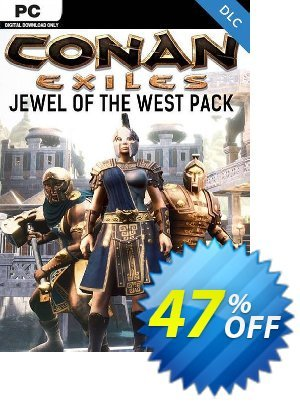 Conan Exiles PC - Jewel of the West Pack DLC discount coupon Conan Exiles PC - Jewel of the West Pack DLC Deal - Conan Exiles PC - Jewel of the West Pack DLC Exclusive offer for iVoicesoft