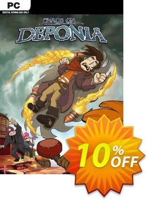 Chaos on Deponia PC 프로모션 코드 Chaos on Deponia PC Deal 프로모션: Chaos on Deponia PC Exclusive offer for iVoicesoft