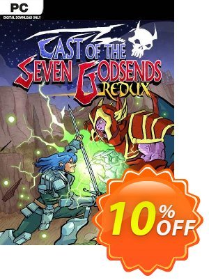 Cast of the Seven Godsends Redux PC Coupon discount Cast of the Seven Godsends Redux PC Deal. Promotion: Cast of the Seven Godsends Redux PC Exclusive offer for iVoicesoft