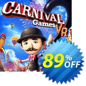 Carnival Games VR PC 優惠券,折扣碼 Carnival Games VR PC Deal,促銷代碼: Carnival Games VR PC Exclusive offer for iVoicesoft