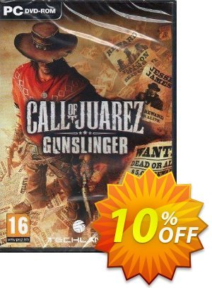 Call of Juarez: Gunslinger PC discount coupon Call of Juarez: Gunslinger PC Deal - Call of Juarez: Gunslinger PC Exclusive offer for iVoicesoft