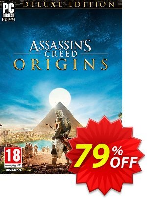 Assassins Creed Origins Deluxe Edition PC + DLC Coupon, discount Assassins Creed Origins Deluxe Edition PC + DLC Deal. Promotion: Assassins Creed Origins Deluxe Edition PC + DLC Exclusive offer for iVoicesoft