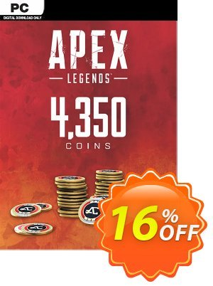 Apex Legends 4350 Coins VC PC 프로모션 코드 Apex Legends 4350 Coins VC PC Deal 프로모션: Apex Legends 4350 Coins VC PC Exclusive offer for iVoicesoft