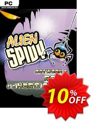 Alien Spidy Between a Rock and a Hard Place PC 프로모션 코드 Alien Spidy Between a Rock and a Hard Place PC Deal 프로모션: Alien Spidy Between a Rock and a Hard Place PC Exclusive offer for iVoicesoft