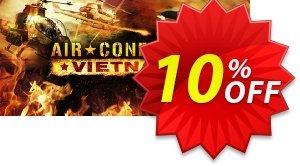 Air Conflicts Vietnam PC 프로모션 코드 Air Conflicts Vietnam PC Deal 프로모션: Air Conflicts Vietnam PC Exclusive offer for iVoicesoft